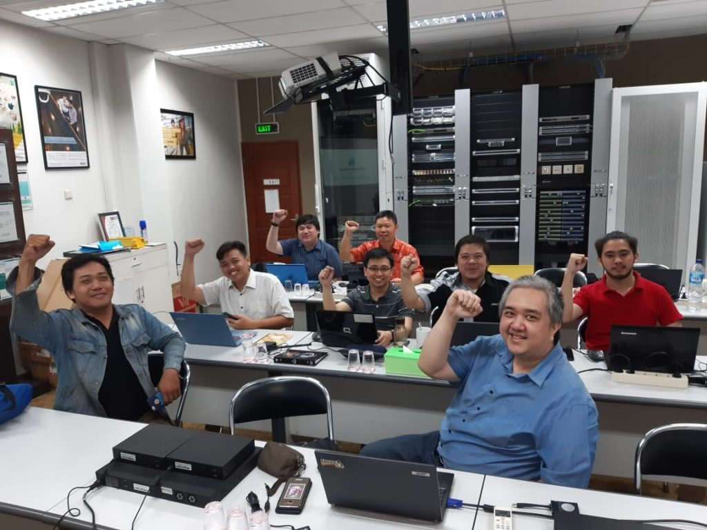 STORMSHIELD EU Internal training at our HQ, The PROJECT GENERAL COMPANY, Jakarta manages data security projects in #indonesia